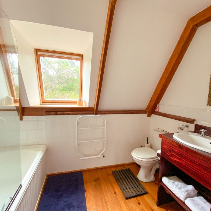 Bathroom at Barn Owl