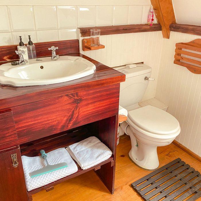 Second bathroom sink at Barn Owl