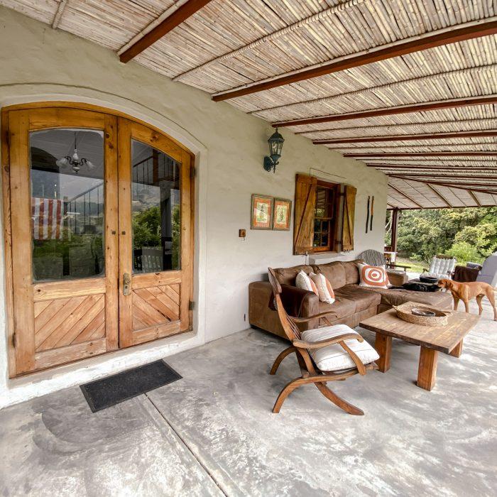 Door to patio