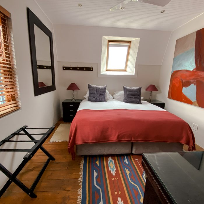 Upstairs bedroom - can be two singles or king