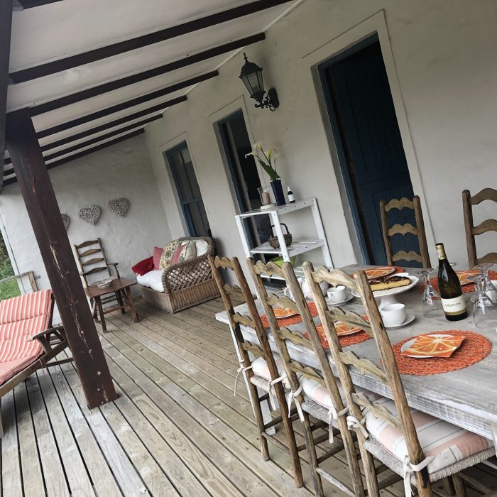 Outdoor deck at Gatehouse